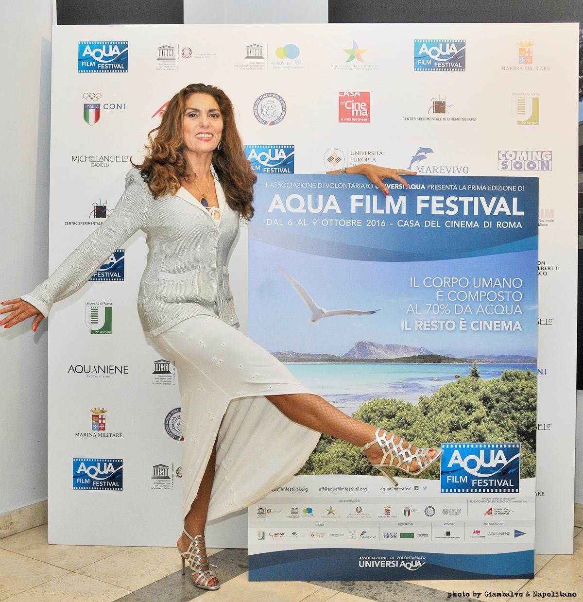Eleonora Vallone all'acquafilmfestival